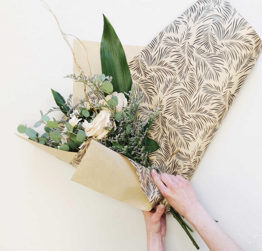 Exclusive Floral Wrapping Paper