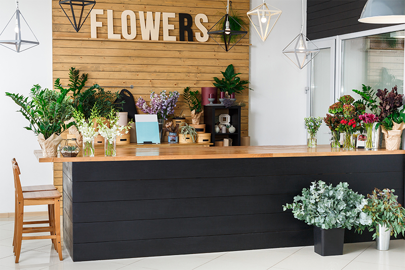 Flower Shop Front Desk