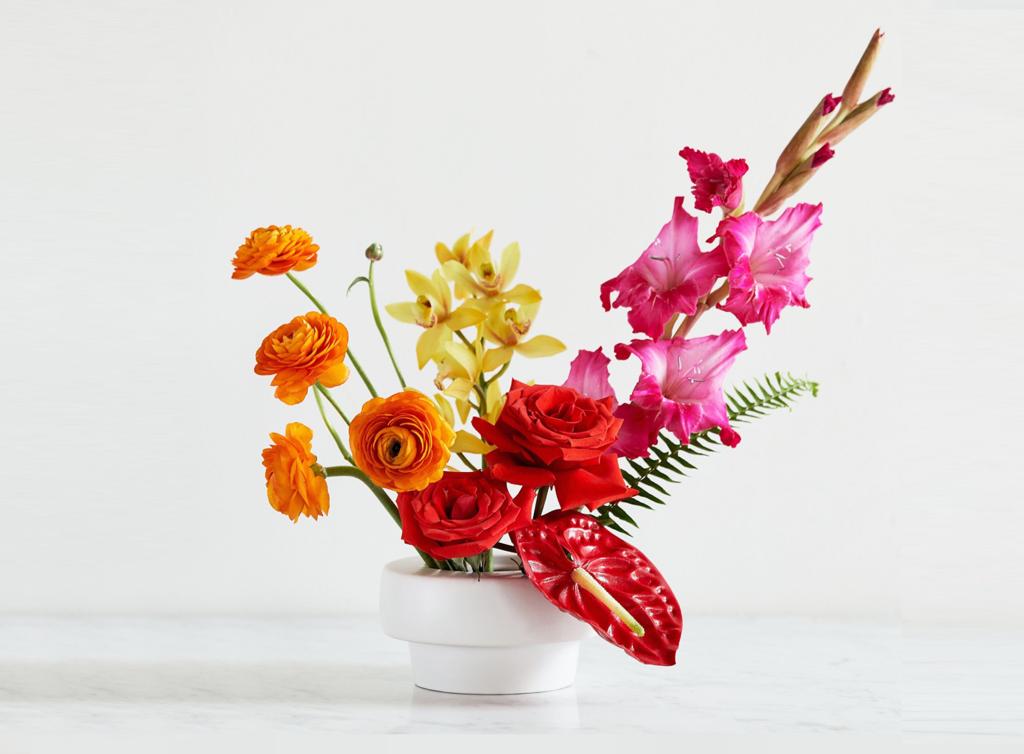 Tropical Floral Design