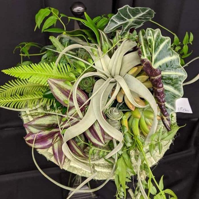 Canadian Academy of Floral Art - Succulent Arrangement